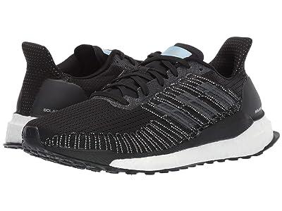 adidas Running Solar Boost 19 (Core Black/Grey Five/Glow Blue) Women