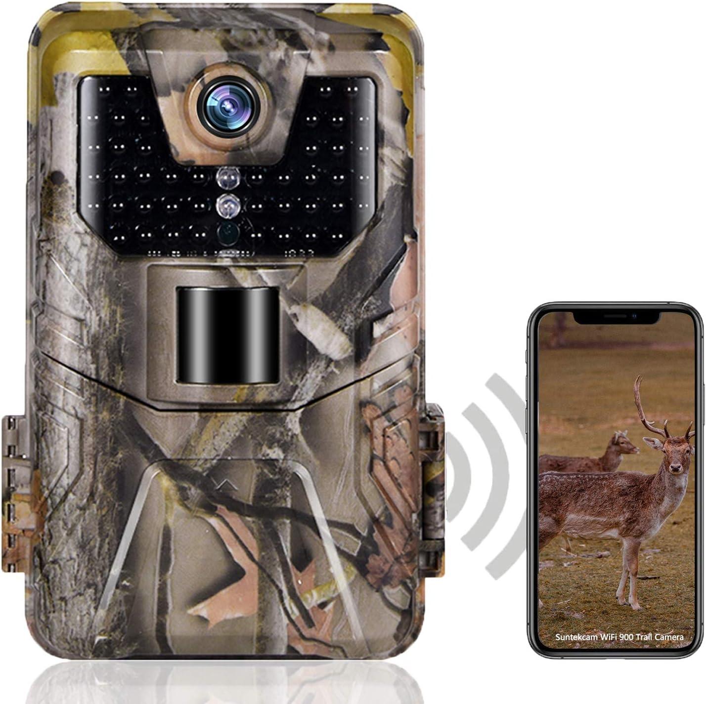SUNTEKCAM Trail Detroit Mall Camera WiFi Bluetooth Luxury goods Cameras 1296P 24MP Hunting
