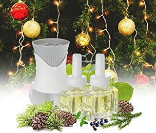 New - Christmas Tree Air Freshener Kit (1) Fraser Fir Balsam (1) Sycamore Fir and (1) Air Wick Scented Oil Warmer