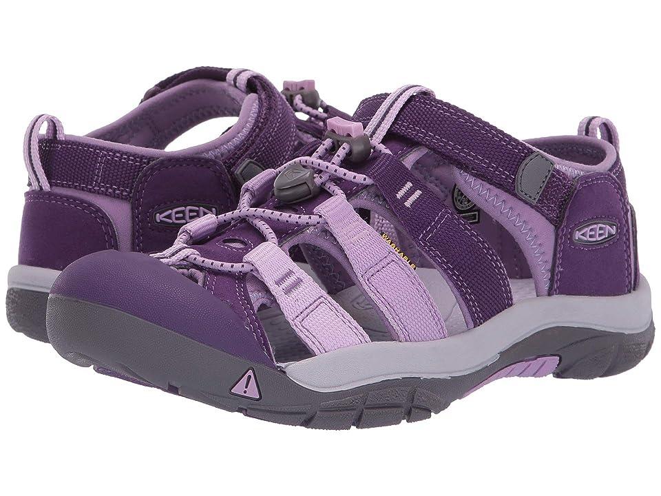 Keen Kids Newport H2 (Little Kid/Big Kid) (Majesty/Lupine) Girls Shoes