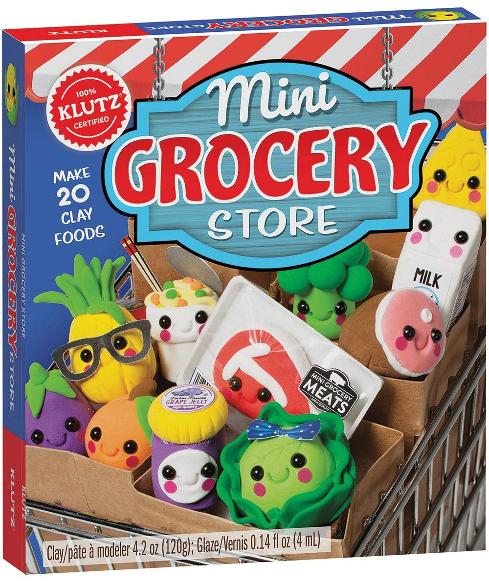 Mini Grocery Store Clay Food Model Klutz Editors Of Klutz Amazon Co Uk Kitchen Home