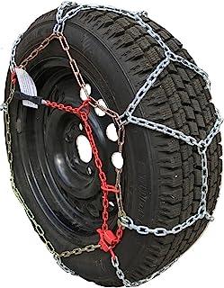 TireChain.com P215/75R14 P225/70R14 P235/60R14 P195/75R15 P205/70R15 P205/75R15 P215/65R15 P225/60R15 P205/65R16 P215/55R16 P215/60R16 P235/50R16 P215/50R17 Diamond Tire Chains Set of 2