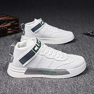 N\C Chaussures pour Hommes Chaussures Montantes de Printemps Chaussures à l'ancienne pour Hommes Bottes Martin Tendance Ch...