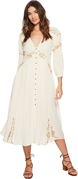 Free People - Day Glow Midi Dress