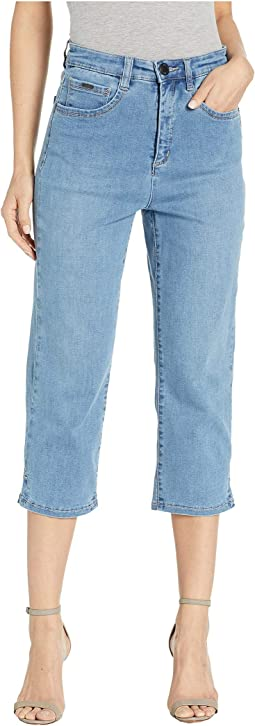 Cool Denim Suzanne Capris in Chambray