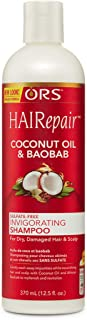 ORS HAIRepair Coconut Oil & Baobab Sulfate-Free Invigorating Shampoo, 12.5 Ounce