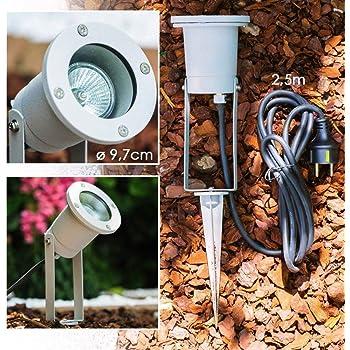 LED Gartenstrahler Landschaft Außen Lampe Bodenstrahler Außenleuchten Rasenlicht