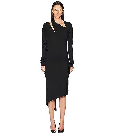 Vivienne Westwood Timans Jersey Long Sleeve Dress (Black) Women
