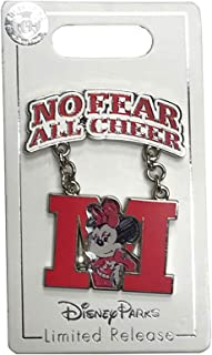 Minnie Mouse No Fear All Cheer Cheerleading Trading Pin