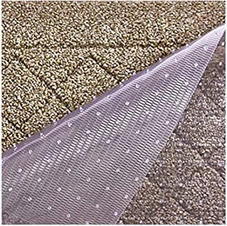 Resilia Premium Heavy Duty Floor Runner/Protector for Carpet Floors – Non-Skid, Clear, Plastic Vinyl, Clear Prism, 27 Inch...