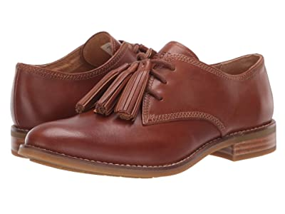 Sperry Fairpoint Tassel Leather Oxford (Tan) Women