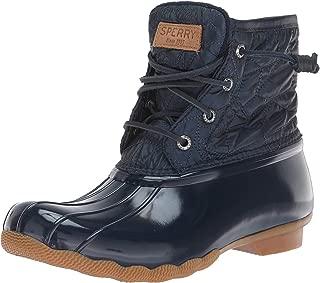 Women's Saltwater Nylon Quilt Rain Boot