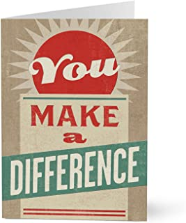 Hallmark Business Employee Recognition Card (Make a Difference Employee Appreciation) (Pack of 25 Greeting Cards for Business)