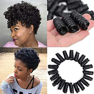 Best spiral curls crochet braids Reviews