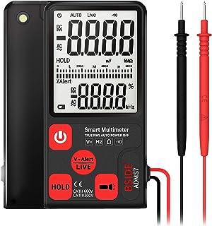 ADMS7 Multímetro Inteligente True RMS Multímetro Digital de Medição AC/DC Tensão Resistência de Freqüência com Display LCD...