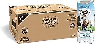 Organic Valley, Milk Boxes, Shelf Stable 1% Milk, Healthy Snacks, 8 Fl Oz  (Pack of 24)