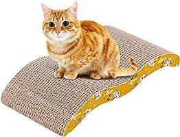 لوح خدش من الورق المقوى للقطط والكلاب الصغيرة، لوحة خدش مموجة