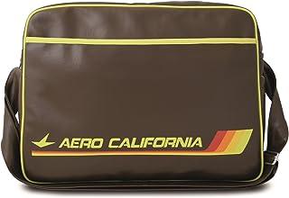Logoshirt Tasche Aero California - Schultertasche - Airline Sporttasche - braun - Lizenziertes Originaldesign