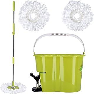 Royalford Spin Easy Mop Bucket Pedel Green