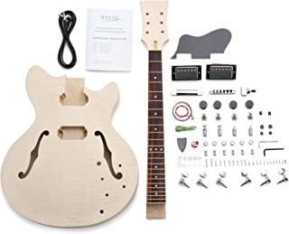 Rocktile 38313 - Set para construir guitarra eléctrica estilo HB