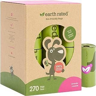 comprar comparacion Earth Rated - Pack de bolsas para recoger excrementos de perro, Olor a Lavanda , 18 Rollos (270 unidades)