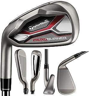 TaylorMade Golf Men's AeroBurner Iron Steel Shaft LH