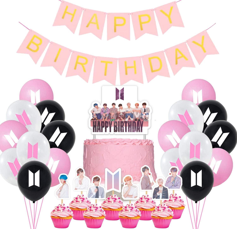 Bangtan Boys Birthday Party Supplies- 22 Ranking TOP14 To Charlotte Mall 30 Cupcake Balloons