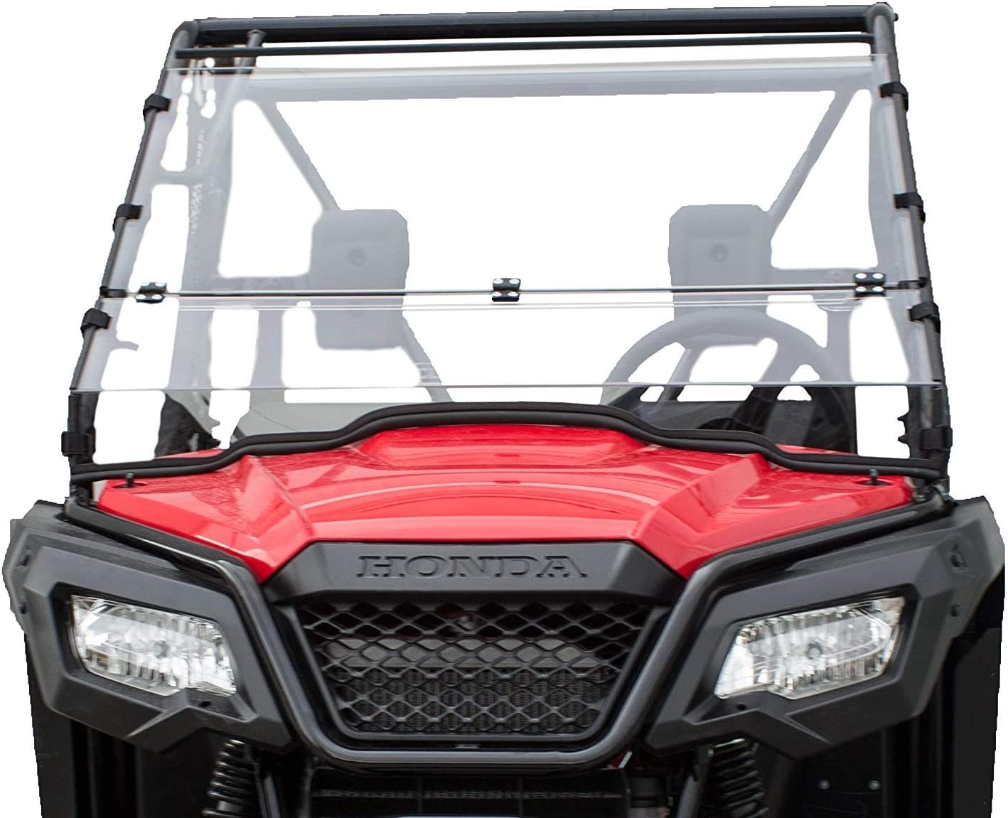 Clearly Tough Gorgeous Honda Pioneer 500 520 Full 2021 spring and summer new -S Folding Windshield -