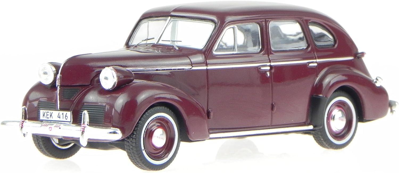 PremiumX Volvo PV 60 dunkel rot 1947 Modellauto PRD436 1 43 B01MSXCLH7 Überlegen  | Won hoch geschätzt und weithin vertraut im in- und Ausland vertraut