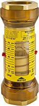 Hedland H624-004-R EZ-View Flowmeter, Polyphenylsulfone, For Use With Water, 0.5 - 4 gpm Flow Range, 1/2