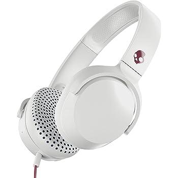 Amazon Com Skullcandy Riff On Ear Headphones Vice Gray Crimson S5pxy L635 Electronics