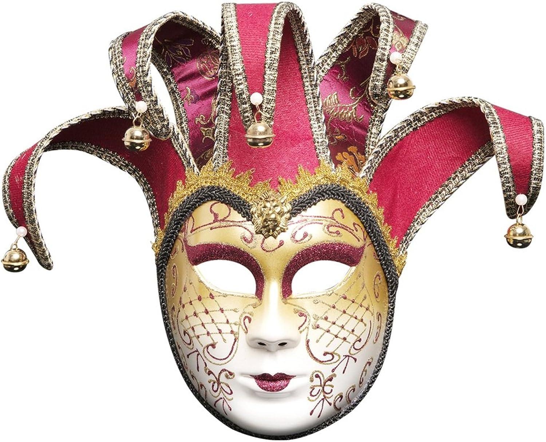 buena reputación JTWJ MásCochea de Fiesta Fiesta Fiesta de la Bola de Halloween Navidad Creativa másCochea de Maquillaje de Cochea Completa (Color   rojo)  costo real