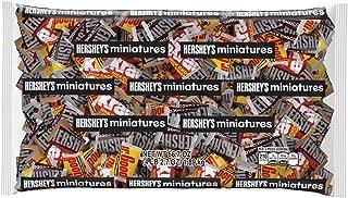 HERSHEY'S Miniatures Chocolate Candy Assortment, 66.7 Ounce Bulk Bag
