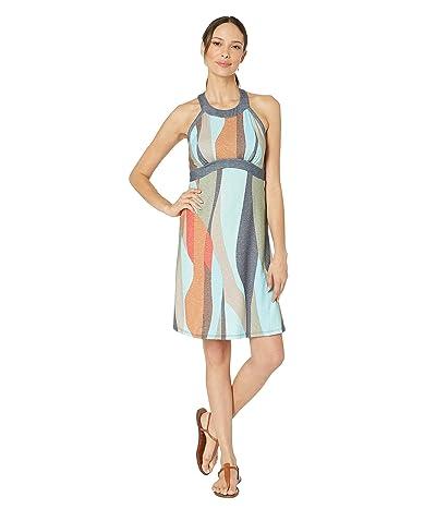 Prana Calexico Dress (Charcoal Wavy) Women