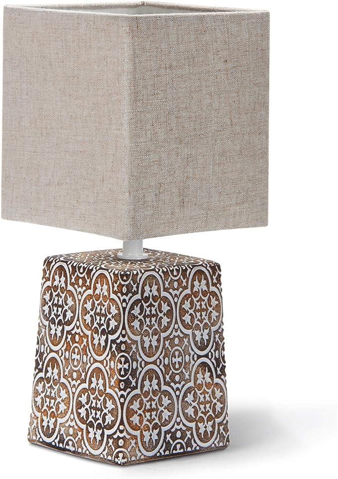 365 opinioni per Aigostar Lampada da Comodino, Moderna Lampada da Tavolo Base in Ceramica