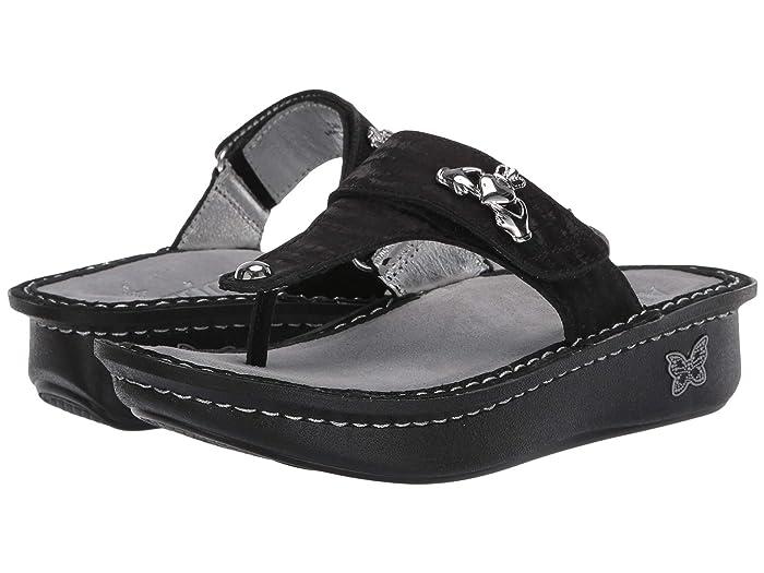 Alegria  Carina (Caviar) Womens Sandals