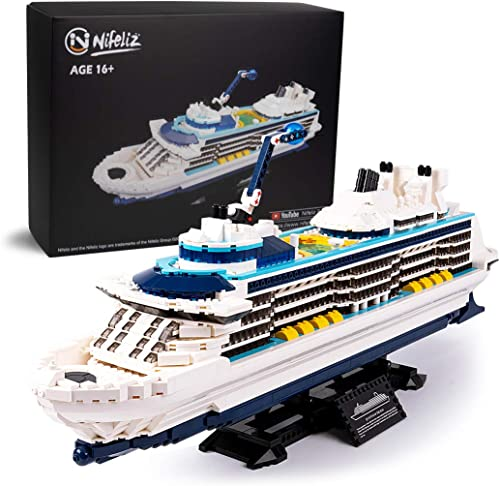 high quality Nifeliz Cruise Liner Model, Toy Boat Building Blocks Kits and Engineering Toy, Construction Set to outlet online sale 2021 Build, Model Set and Assembly Toy for Teens(2428 Pcs) outlet sale