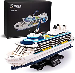 Nifeliz Cruise Liner Model, Toy Boat Building Blocks Kits and Engineering Toy, Construction Set to Build, Model Set and Assembly Toy for Teens(2428 Pcs)