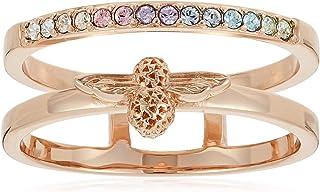 Olivia Burton Women'S Brass Rose Gold Rings -OBJAMR26A