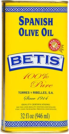 Betis Spanish Olive Oil 100% Pure 32 Ounce