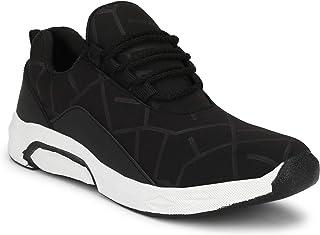 HEEDERIN Men's Mesh Lace up Comfortable/Lightweight/Walking/Running/Sport/Gym