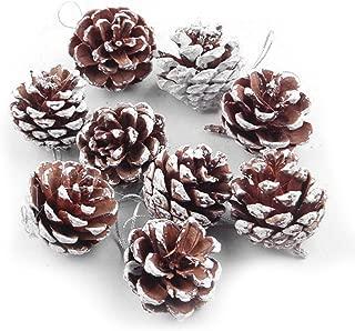 ゴシレ Gosear 54個 クリスマス用品 松ぼっくり 飾り ボール ため クリスマス ツリー DIY の装飾