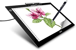 A4 Portable LED Light Box Trace, Zecti USB Power LED Artcraft Tracing Light Pad Light Box 6 Level Brightness for Artists Drawing Sketching Animation X-rayViewing