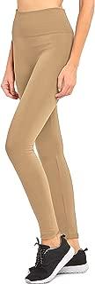 Premium Leggings High Waisted Fleece Lined Soft Opaque Seamless Tummy Control