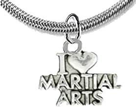 Martial Arts, Kickboxing Jewelry, Karate Jewelry, Adjustable Necklace, Hypoallergenic, Safe-Nickel, Lead Free