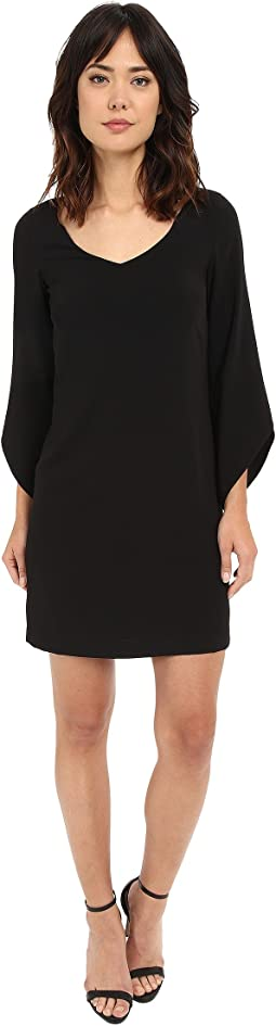 Crepe T-Body with 3/4 Tulip Sleeve