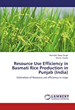 Resource Use Efficiency in Basmati Rice Production in Punjab (India)