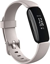 Fitbit Inspire 2 Health & Fitness Tracker with a Free 1-Year Fitbit Premium Trial, 24/7 Heart Rate, Black/White, One Size ...