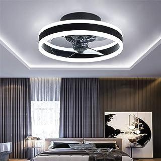 TATANE Reversible Plafonnier Ventilateur Silencieux Telecommande 6 Vitesses Chambre Ventilateur de Plafond avec Lumiere Mo...