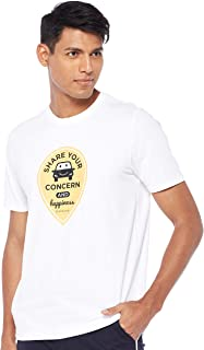 Giordano Men's 01089001 Happiness Sharing Smile Print Tee
